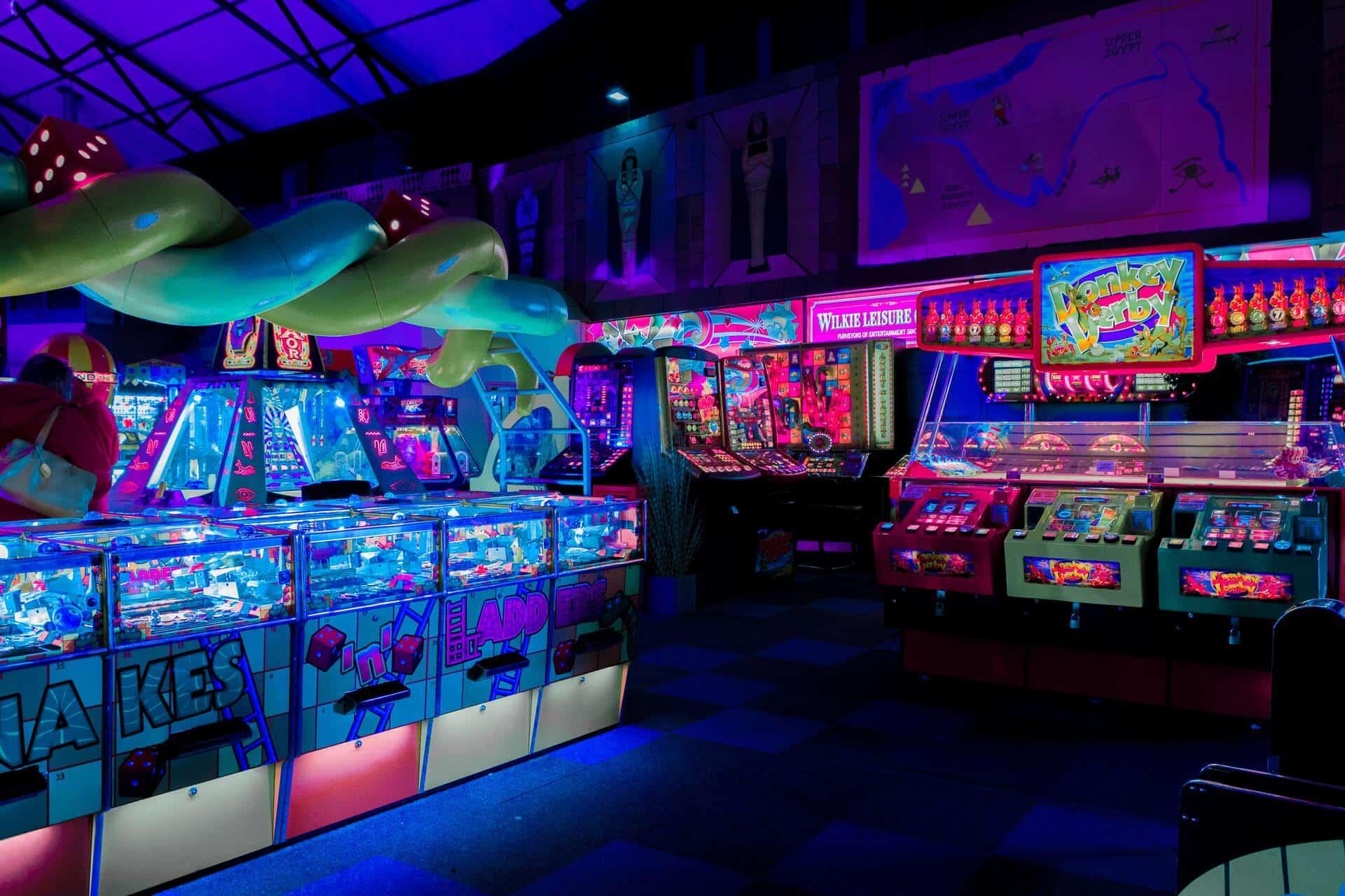 Arcadespiel Vermieter